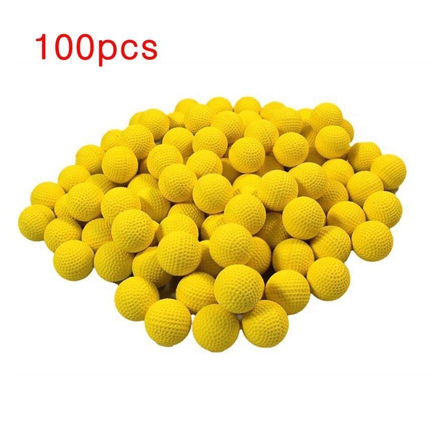Hot Sale 100pcs Refill Bul*let Balls For Nerf Rival Apollo Zeus Kids Toy Compatible Gun