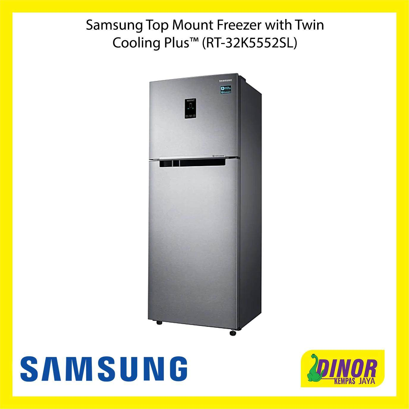 Samsung Top Mount Freezer with Twin Cooling Plus™ (RT-32K5552SL)