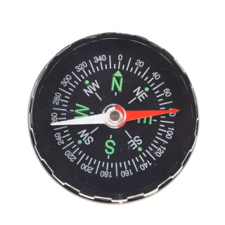 Black Oil Filled Compass Excellent for hiking, camping and outdoor thumbnail