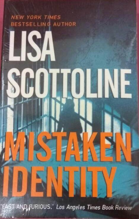 Mistaken Identity Lisa Scottoline Fiction Novel By Little Red Riding Book.