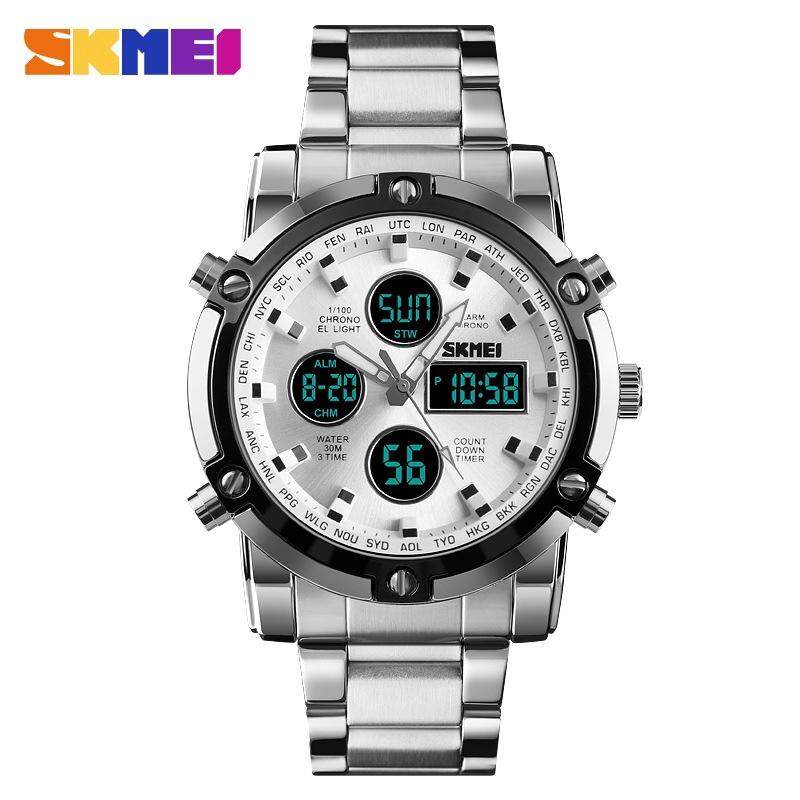 Brand New SKMEI 1389 Men Watches Quartz Waterproof Fashion Wristwatch Malaysia