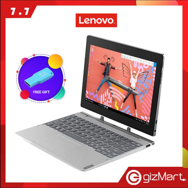 Lenovo IdeaPad Miix D330-10IGM 81H300J7MJ 10.1 Touchscreen Laptop (N4000, 4GB, 64GB, Win10) + FREE pendrive Malaysia