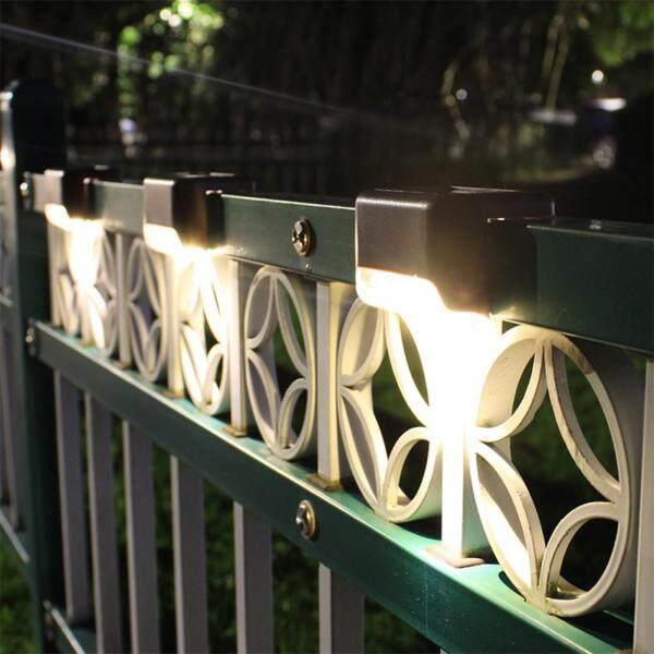 Đèn LED Chinatera Năng Lượng Mặt Trời, 4 Bóng Đèn Sàn Năng Lượng Mặt Trời Chuẩn Chống Nước IP65 Cho Sân Vườn, Lối Đi, Sân Thượng, Cầu Thang, Bậc Thang, Đèn Hàng Rào