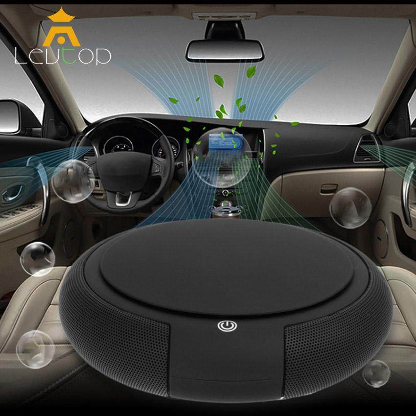 LEVTOP Car air humidifier Air Cleaner Freshener with HEPA Filter, Oxygen Bar Portable Mini Travel Smart Car Home Dual Use USB /Remove Odor Smell, PM2.5, Bacteria