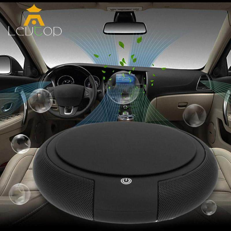 Bảng giá LEVTOP Car air humidifier Air Cleaner Freshener with HEPA Filter, Oxygen Bar Portable Mini Travel Smart Car Home Dual Use USB /Remove Odor Smell, PM2.5, Bacteria