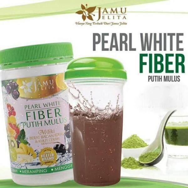 Pearl White Fiber Putih Mulus 400gm