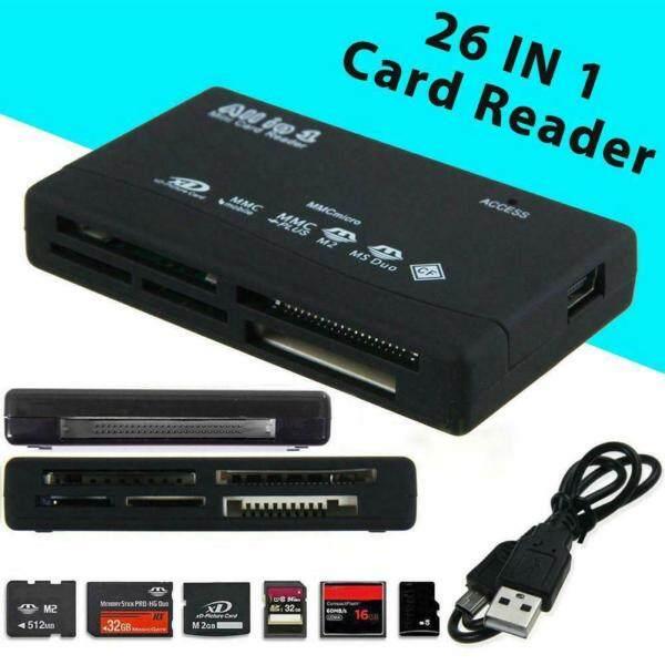 Bảng giá Đầu Đọc Thẻ Nhớ Tất Cả Trong Một 26 Trong 1 USB Ngoài SD Mini Micro M2 MMC XD Nhanh Cho Thẻ SD /Thẻ TF/Thẻ Micro SD/Và Thẻ CF /USB 3.0 Dành Cho Máy Ảnh Laptop Và PC Phong Vũ