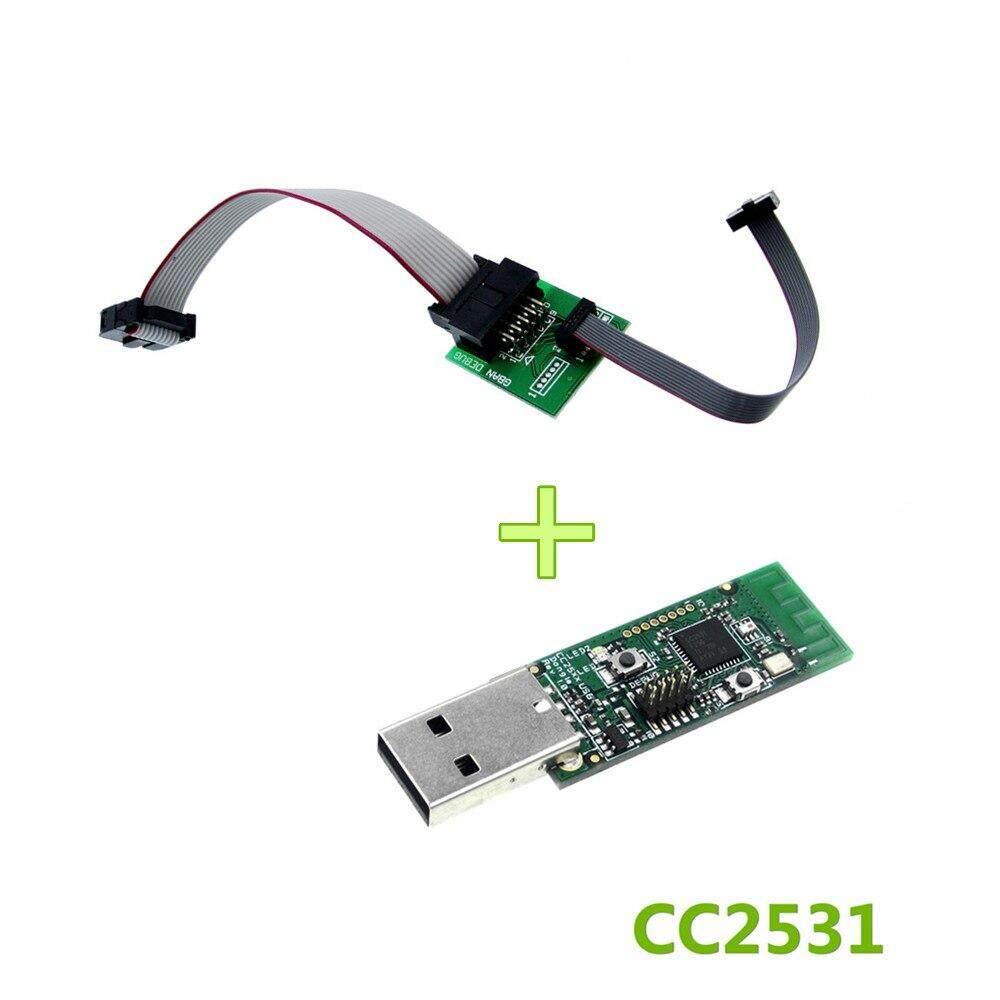 Downloader Cable CC2531 Sniffer USB Dongle CC Debugger Emulator and Programm