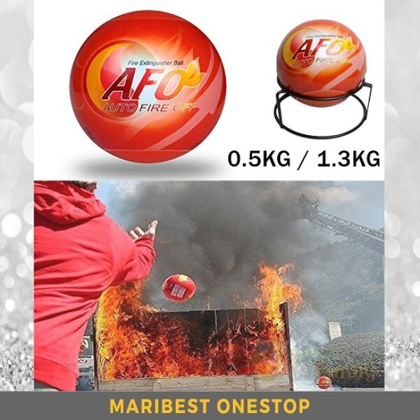 Fire Ball AFO Auto Fire Off Fire Extinguisher Ball 0.5KG / 1.3KG