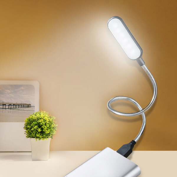 The Procurement Shop Portable Foldable USB Foldable Reading Learning Lamp Laptop Desk Night Light