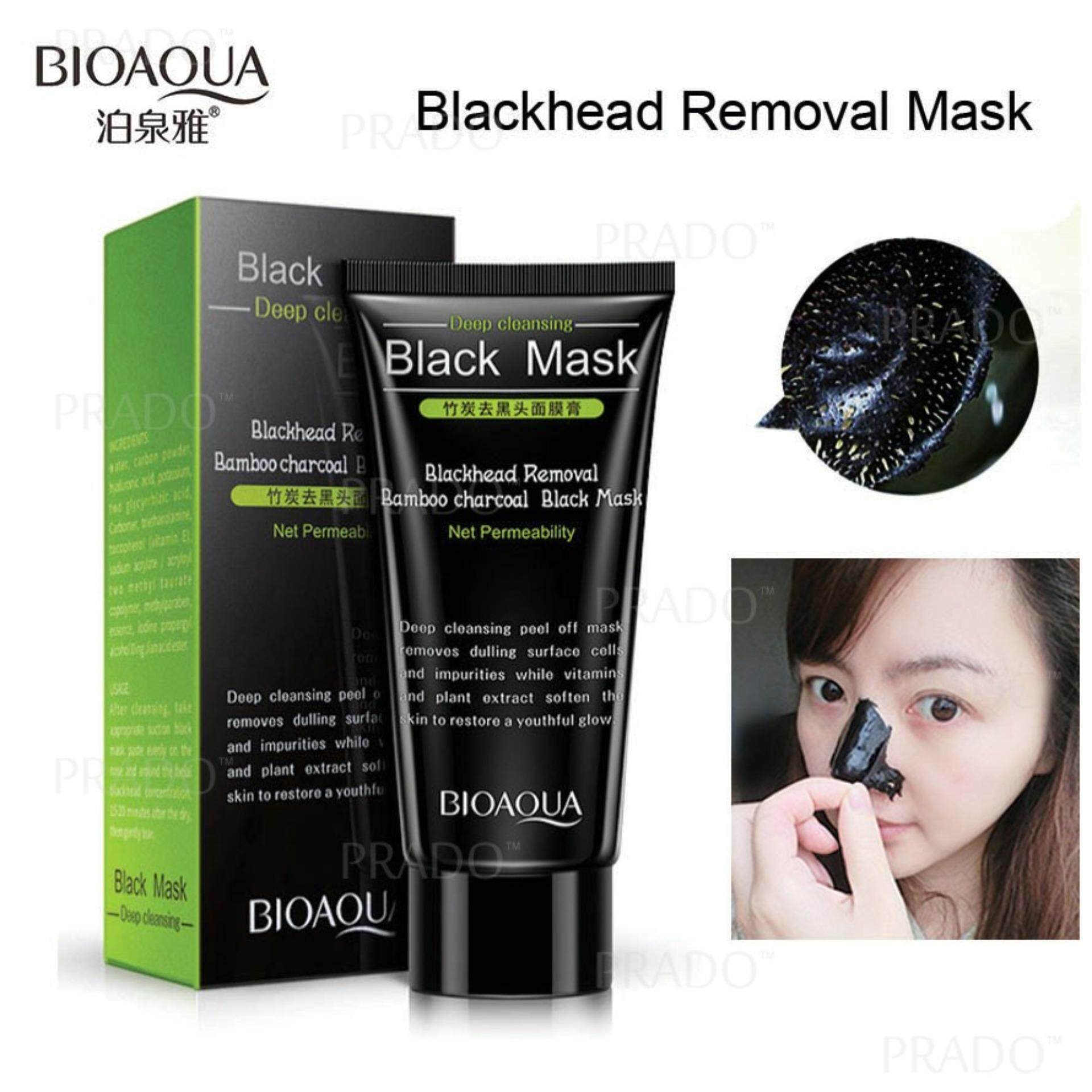 Bioaqua Blackhead Purifying Deep Cleansing Acne Mask Peel-Off Remover Hb-Bqy5662 By Prado Shop.