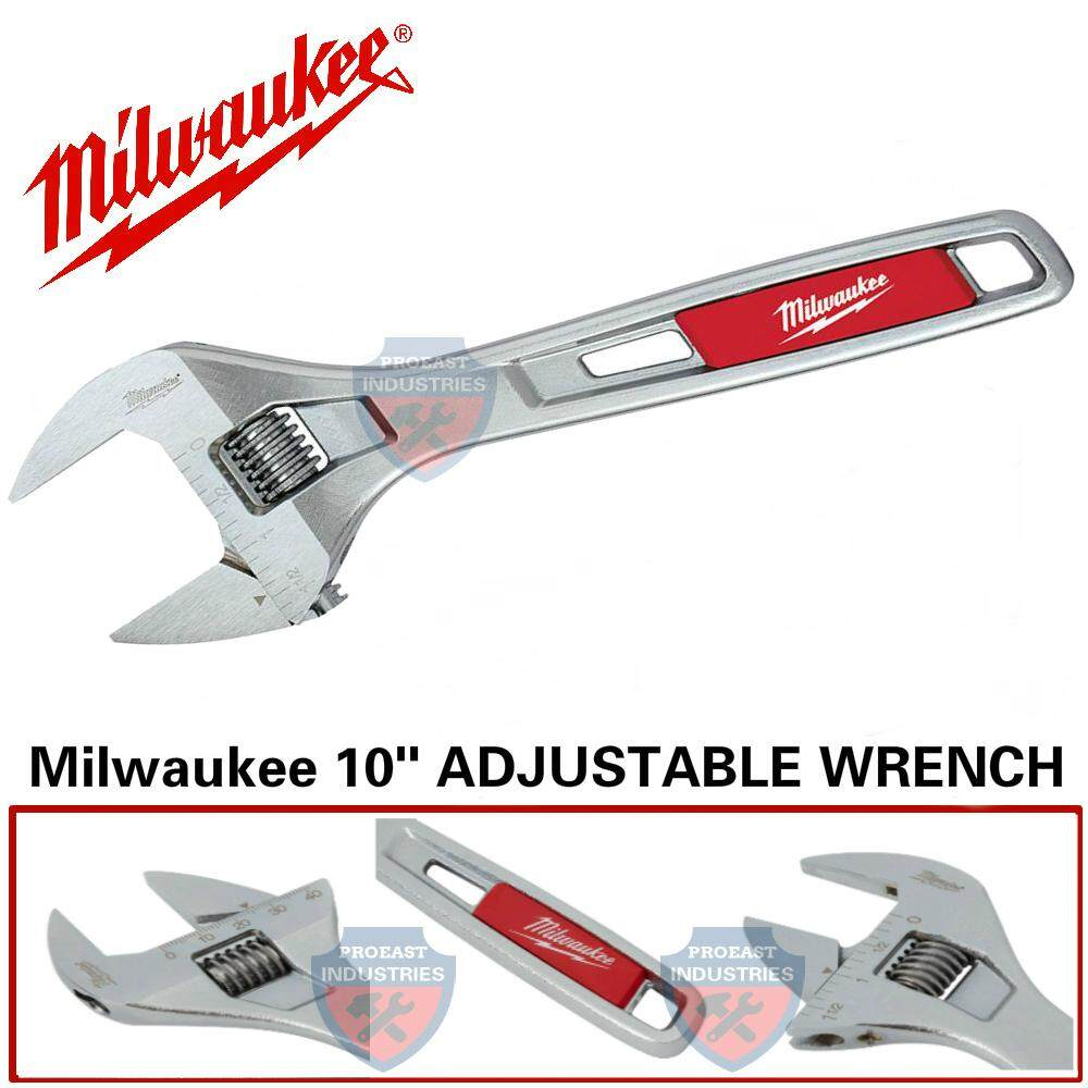 Milwaukee 10 PARALLEL JAW ADJUSTABLE WRENCH 48-22-7410