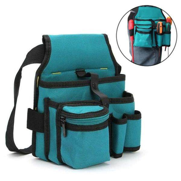 155*210*240mm Multi-Pockets Waist Hardware Tool Bag Organizer Portable Oxford Belt Bag Equipment Tools Storage