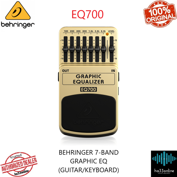 BEHRINGER EQ700 ULTIMATE 7-BAND GRAPHIC EQUALIZER Malaysia