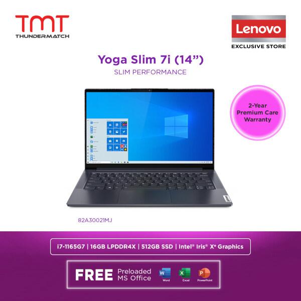 Lenovo Yoga Slim 7i 14ITL05 82A30021MJ Laptop | i7-1165G7 | 16GB RAM 512GB SSD | 14 FHD Touch | W10 | MS OFFICE+SLEEVE Malaysia