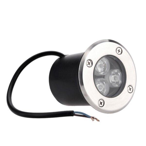 Bảng giá Đèn Ngầm LED 3W Đèn Ngoài Trời Gắn Chìm IP65 AC85-265V