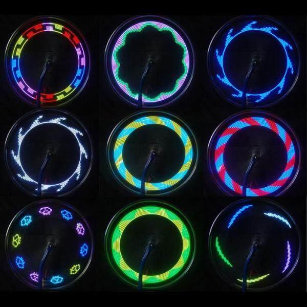 Mua 14 LED Đi Xe Đạp Xe Máy Xe Đạp Bánh Xe Máy Tín Hiệu Đèn Nan Hoa Lốp Xe 30 Thay Đổi