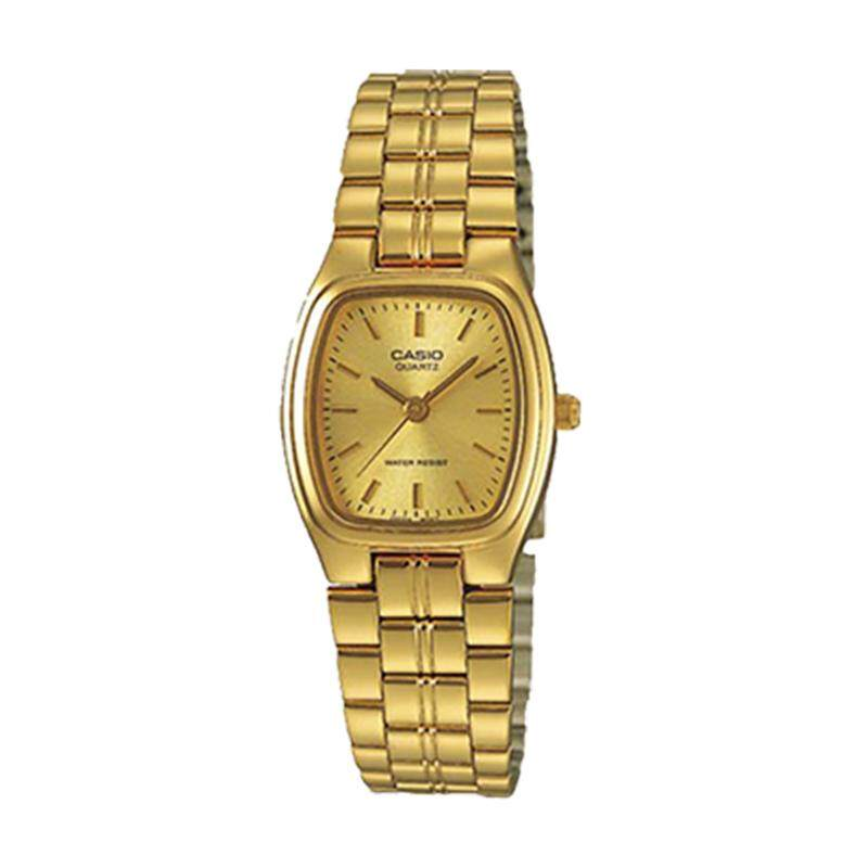 Casio Ladies Standard Analog Gold Stainless Steel Band Watch LTP1169N-9A LTP-1169N-9A Malaysia