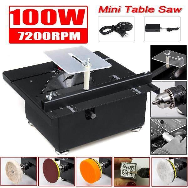 Mini Table Saw Circular Blade Woodworking Bench DIY Crafts Cutting Tool Machine
