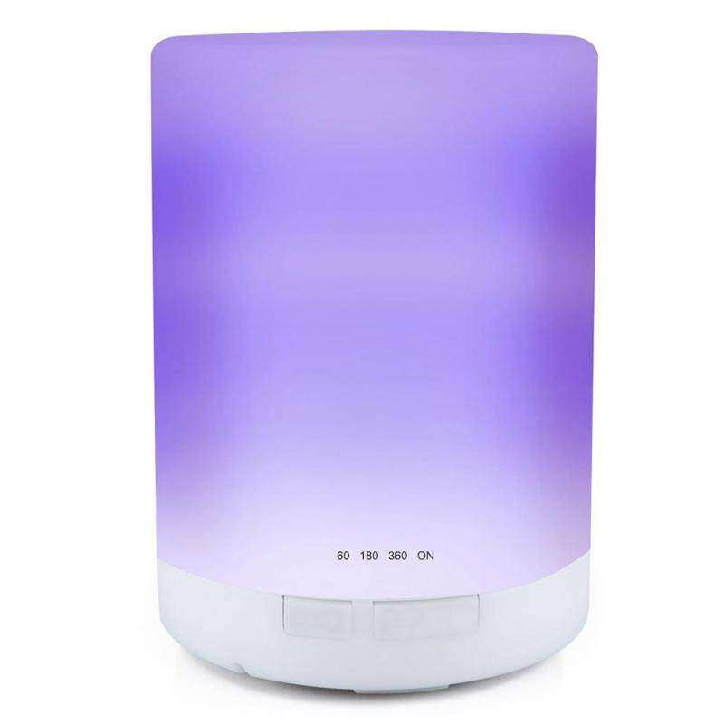 300ml 7 Color LED Ultrasonic Aroma Diffuser Timing Humidifier Mist Maker Singapore