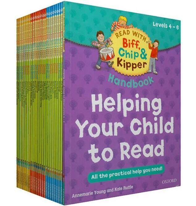 1 Set 25 Books 4-6 Level Oxford Reading Tree Biff,chip&kipper Practical Kids English Picture Book Educational For Children By Twins Girl.
