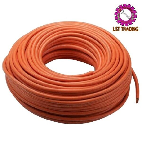 [READY STOCKS] 300AMP / 500AMP WELDING CABLE (ORANGE) (SELL IN FEET) / CAR BATTERY CABLE / CLAMP CABLE