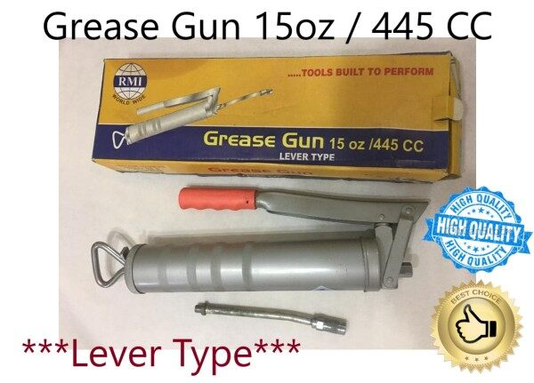 RMI Grease Gun 445cc / 15oz Lever type (1 Set)