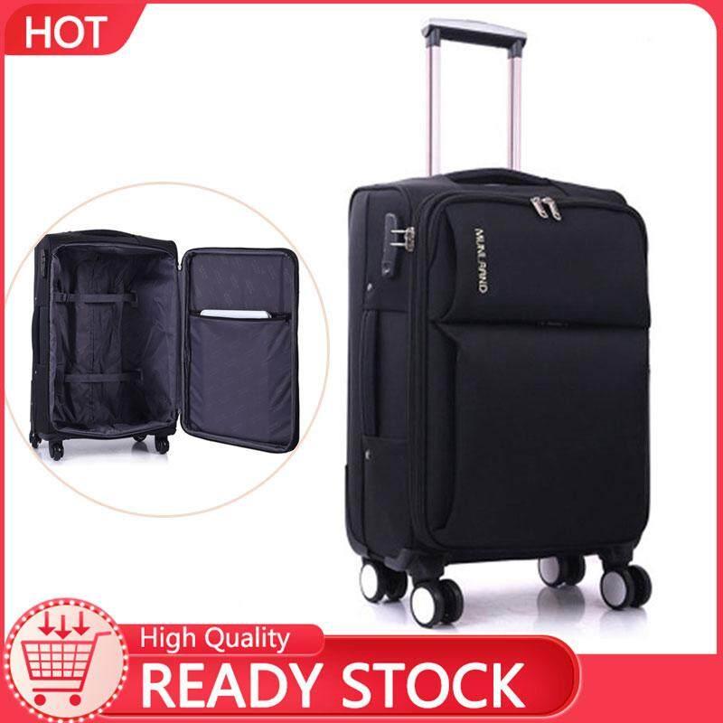 2306a9353ca7 Johnn suitcase trolley bag travel bag Oxford Brackets universal wheel  lockbox travel boarding 20-22-24 inch