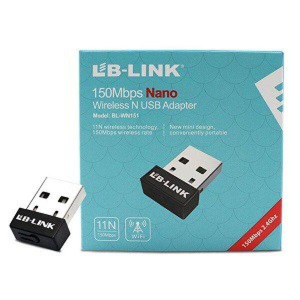 Bảng giá USB thu WIFI LB LINK NANO BL WN151, tiện lợi dùng cho laptop Phong Vũ