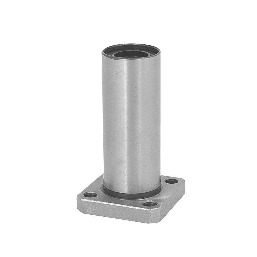 Good 1pc Lmk8luu Dr:8mm Long Square Flange Type Linear Bearing Bushings For 3d Printer Linear Rod Stick Electric Tool Cnc Parts By Good Good Shop.