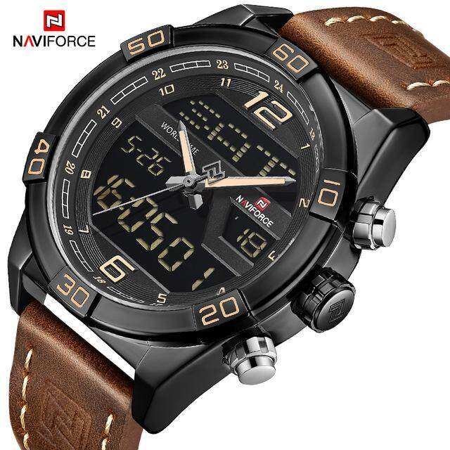Mens Fashion Watch Luxury Brand Fashion Sports Watch Mens Waterproof Quartz Mens Military Digital Dual Display Multifunction Watch Malaysia