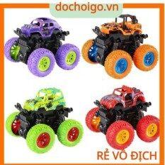 Ô tô đồ chơi địa hình bánh to, xe quán tính nhiều màu sắc Dochoigovn