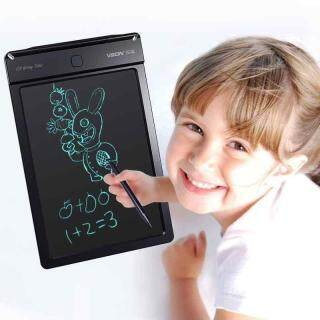 (BÉ HỌC TẬP HIỆU QUẢ HƠN) Bảng Viết Vẽ Điện Tử Thông Minh Cao Cấp 8.5 Inch Size Lớn - Bảng viết tự xóa an toàn cho bé Tmark [Thao2] Dũng thumbnail