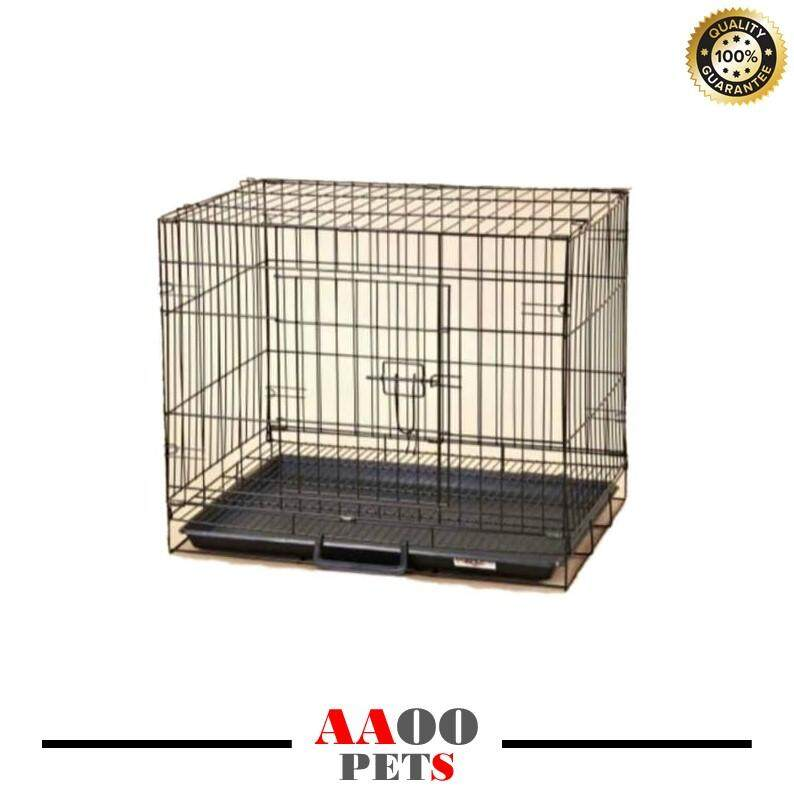 [free Shipping] 6304e Pet Cage (l 24 X W 17 X H 20) By Aaoo Pets.