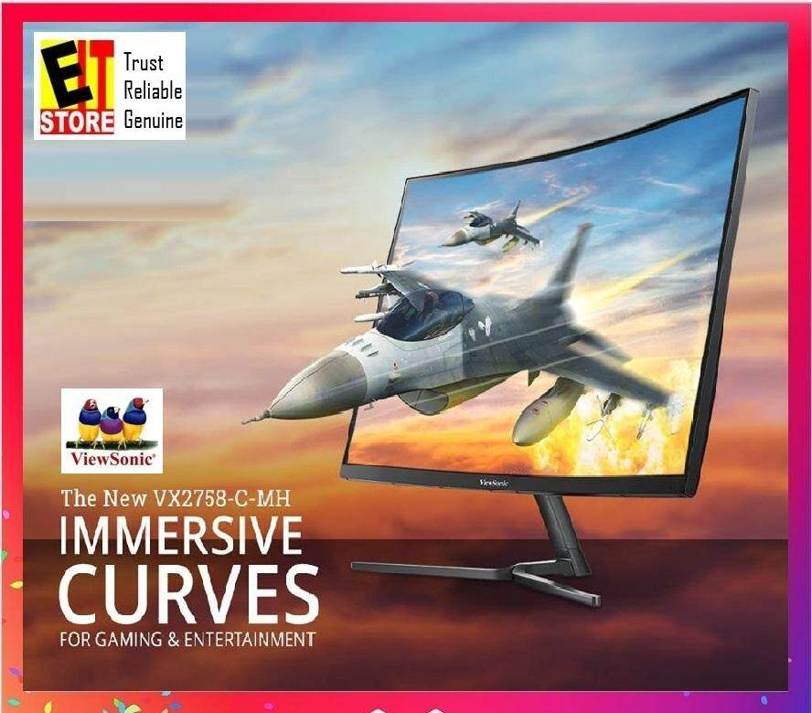 VIEWSONIC VX2758-C-MH 27 FHD 144Hz CURVED GAMING MONITOR Malaysia