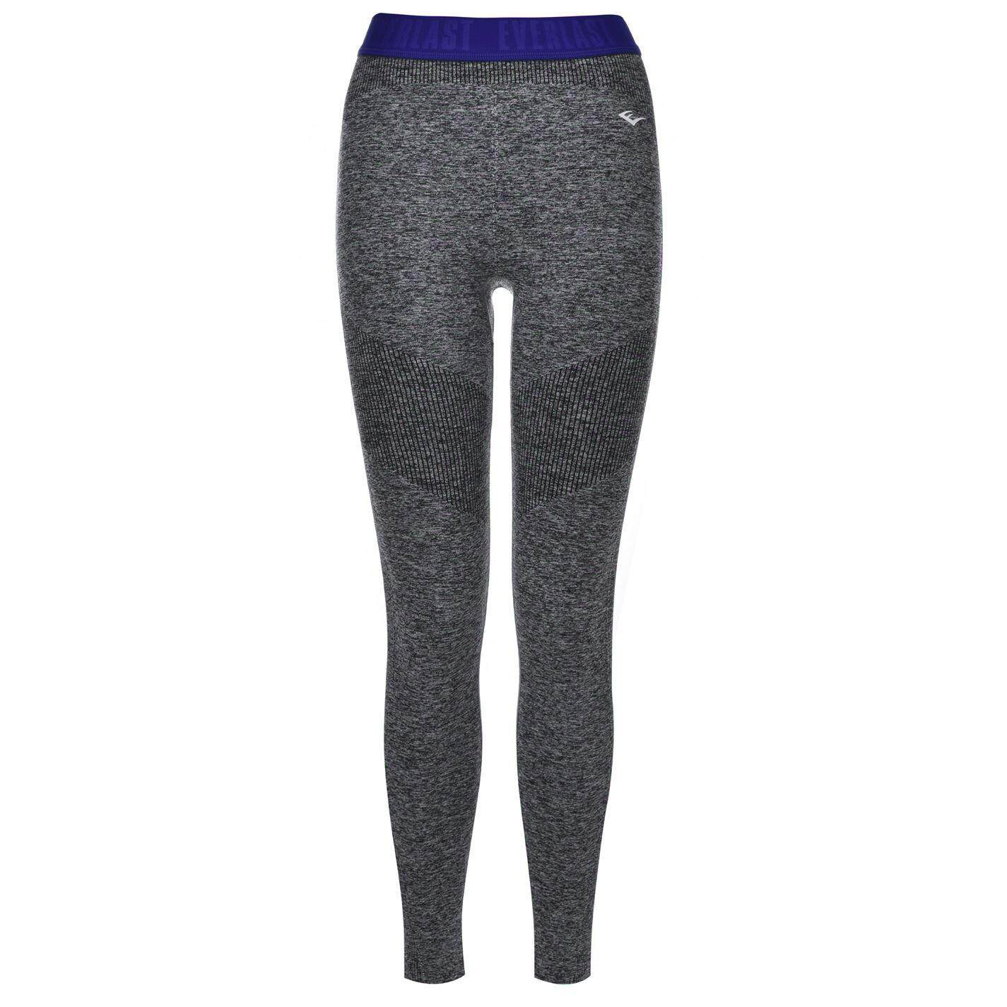 Everlast Womens Seamless Tights (char Marl/blue) By Sports Direct Mst Sdn Bhd.