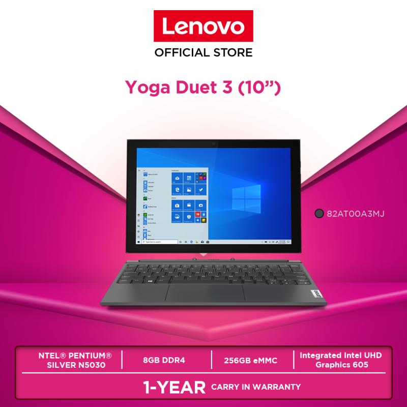 Lenovo Yoga Duet 3 10IGL5 82AT00A3MJ 2in1 |10.3|PENTIUM_N5030|8GB|256GB|W10H|1YR| Malaysia
