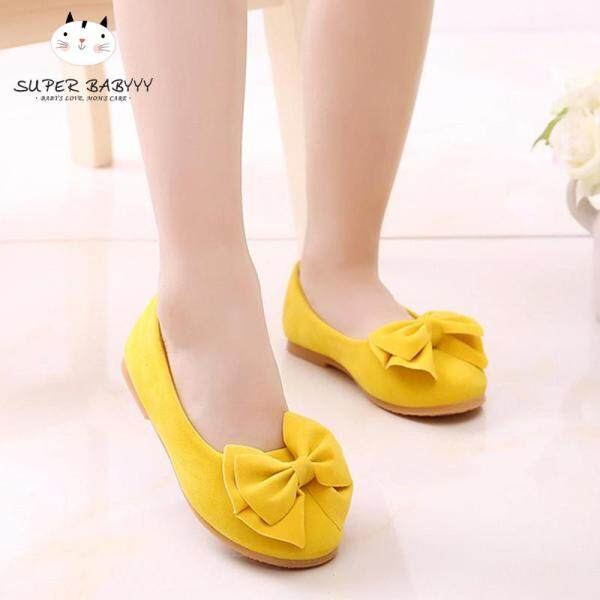 Giá bán SBY Children Giày Công Chúa Bé Gái Màu Trơn Chống Trượt Cho Bữa Tiệc