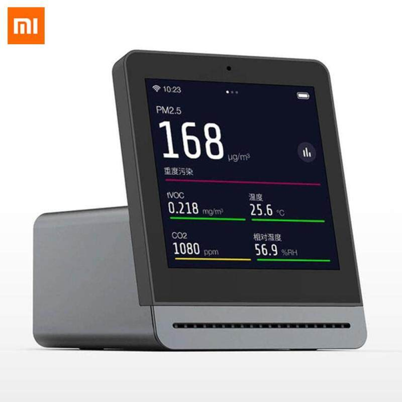 Xiaomi Mijia ClearGrass Air monitor Retina Touch IPS Screen Mobile Touch Operation Indoor Outdoor Clear Grass Air Detector Singapore