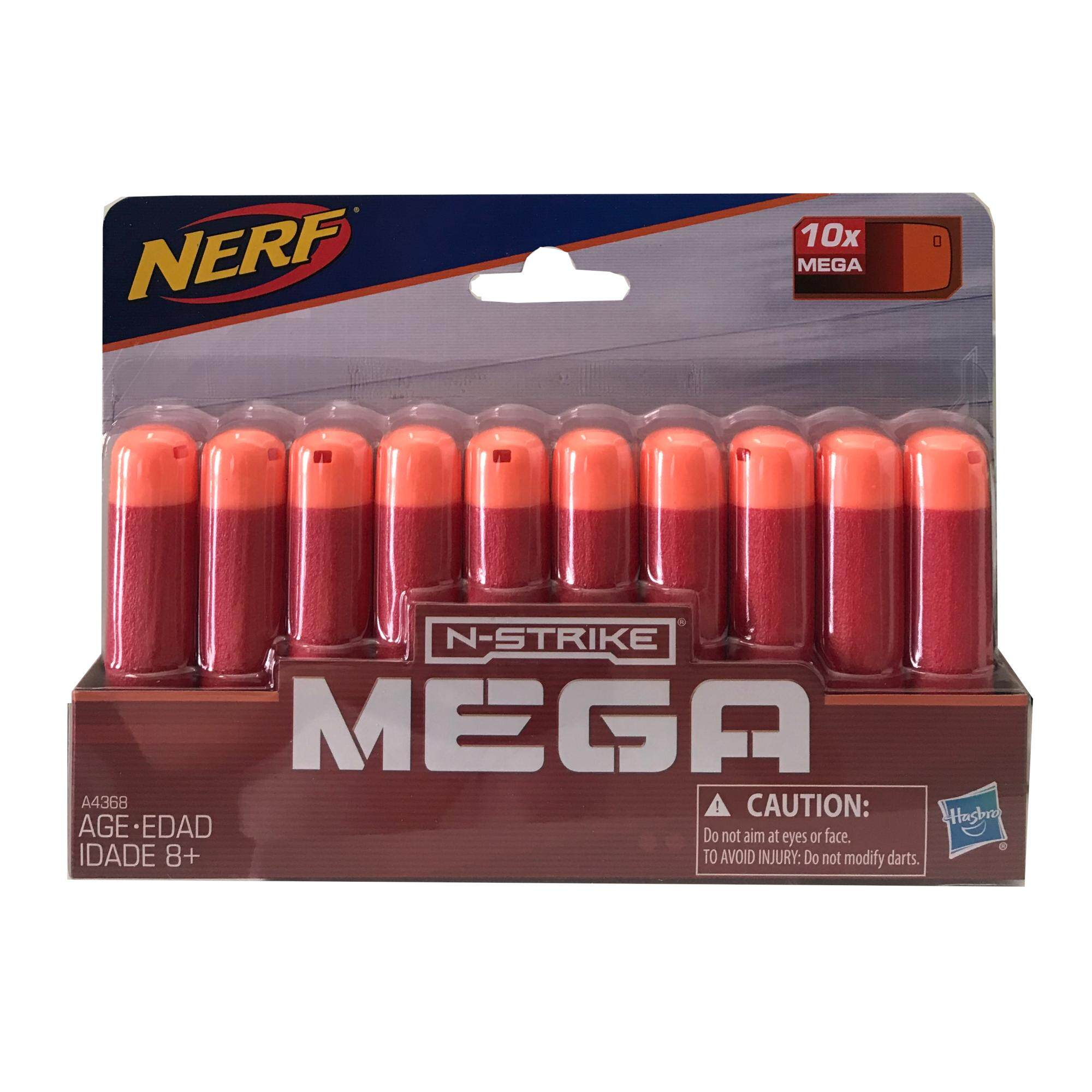 Official Nerf N-Strike Elite Mega Series 10-Dart Refill Pack