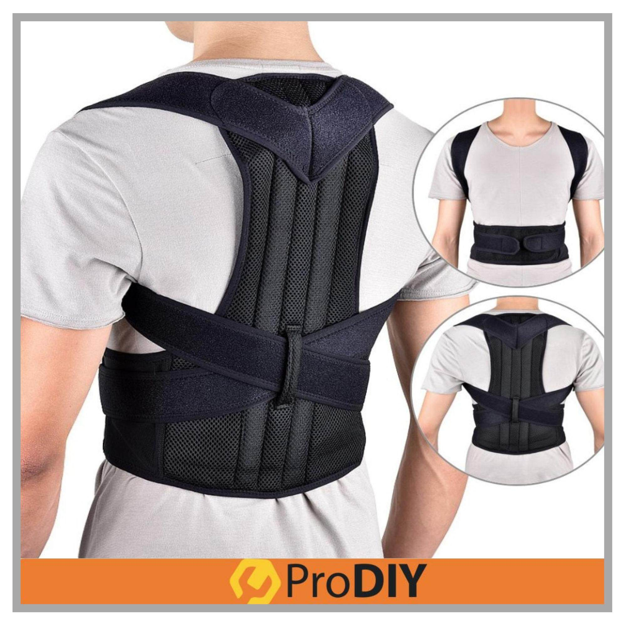 2a7ff9dd45c NY-48 Back Support Posture Shoulder Correction Align Relieve Pain UNISEX  Lifting Belt