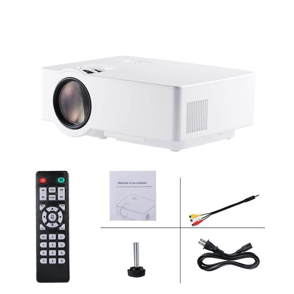 Elec LCD Mini 1080 P HD Proyektor 1500 LM 800*480 Regular Home Theater Jepang