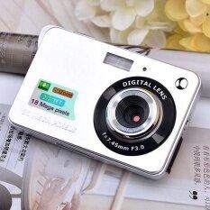Camera TFT LCD Mini 2.7 Máy Ảnh Kỹ Thuật Số Máy Quay Phim Zoom 8x 18MP Camera Siêu Nhỏ Chống Rung Cảm Biến CMOS Video Với Thẻ SD 32GB
