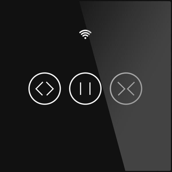 Rèm Cuốn Cảm Ứng Thông Minh RF433 WiFi US EU Động Cơ Chuyển Đổi, Ứng Dụng Cuộc Sống Thông Minh Tuya Điều Khiển Từ Xa Hoạt Động Với Alexa Google Home