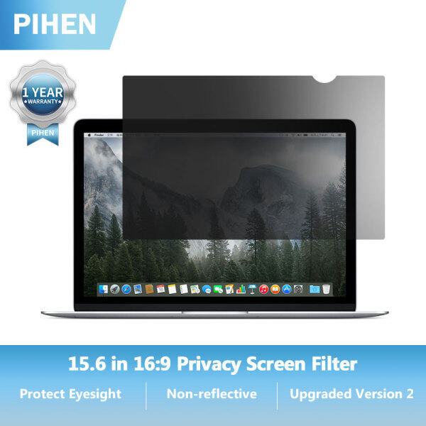 PIHEN Privacy Screen Filter Protector for 15.6in Laptop 16:9 (345*194mm)