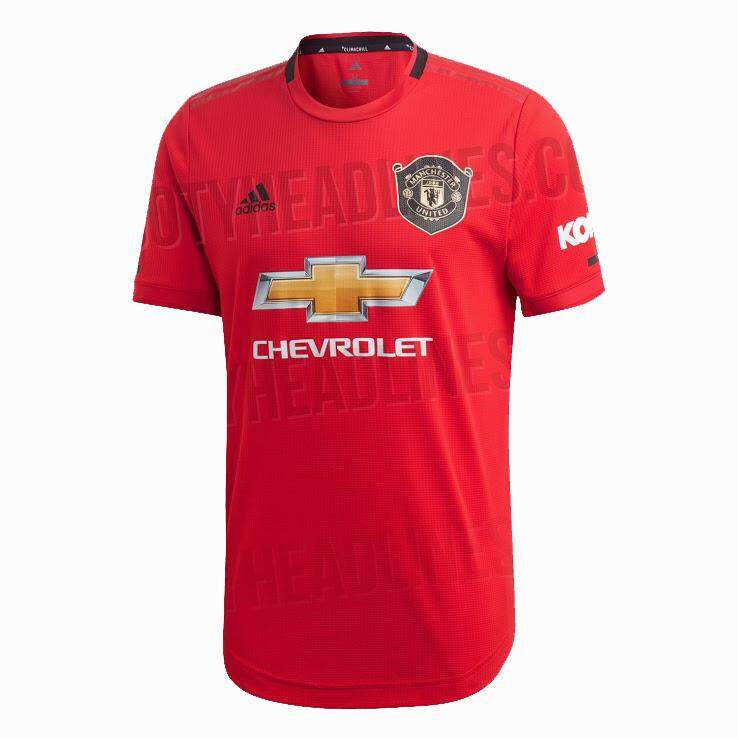 ce380148848 Top Quality 2019/20 Manchester_ United Home Football Soccer Kit Jersey  Short Sleeve Men's Soccer
