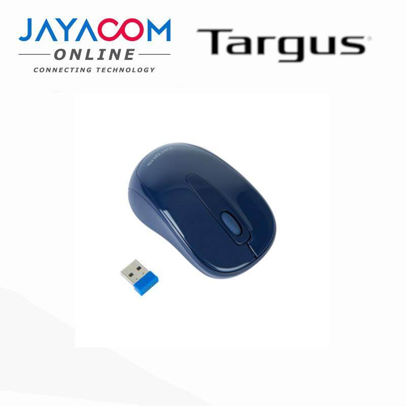 TARGUS AMW60002AP50 WIRELESS OPTICAL MOUSE (RED, BLUE, BLACK) Malaysia