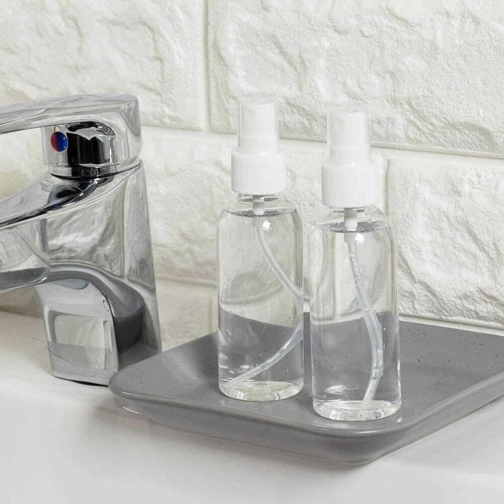 3 Pieces 100ml Plastic Bottle Travel Transparent Plastic Perfume Small Mini Empty Spray Refillable Bottle.