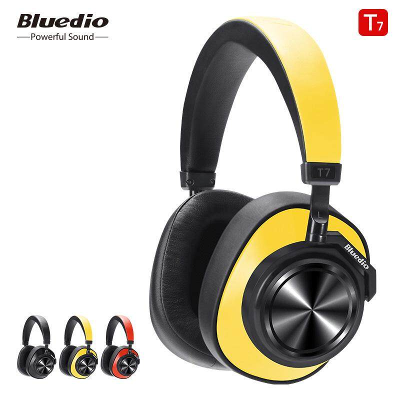 92efa58d36a Bluedio T7 Bluetooth Headphones User-defined Active Noise Cancelling  Wireless Headset for phones and music