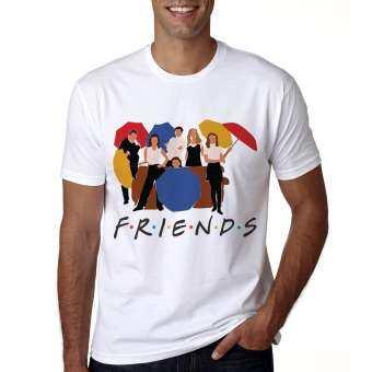 T Shirt Men Casual Short Sleeve Friends Tv Show T Shirt Summer Best Friends T Shirt Friends Tshirt-